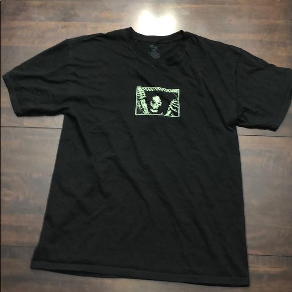 dc354c2aa Vans Shirts | Mens Black Graphic Tee | Poshmark